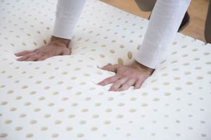 this mattress has special holes for ventilation