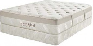 the new loom and leaf mattress from Saatva