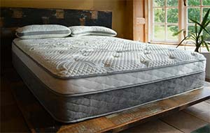 The Nest Bedding Alexander Select Mattress in a room