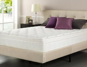 the sleep master ultima comfort 13-inch mattress review in a room