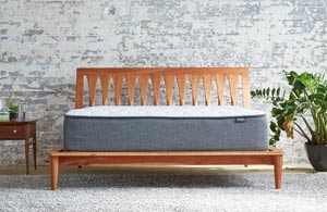 the aviya mattress reviewed from the front