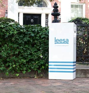 the leesa box