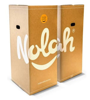 the nolah mattress is shipped in a box