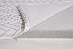 the wright mattress cover with zipper