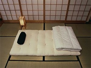 futon on a traditional bamboo floor the futon mattress buying guide  rh   mattress guides