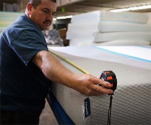 the hyphen mattress is made in the USA
