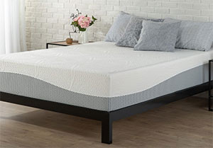 the zninus mattress in a nice room
