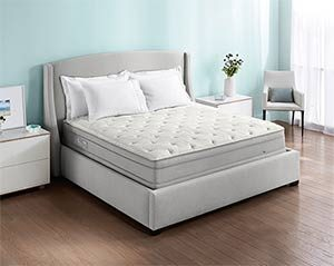 the sleep number p5 mattress in a nice room