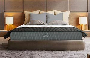 the puffy mattress reviewed in a room