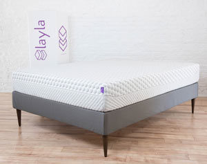 the layla mattress in a room